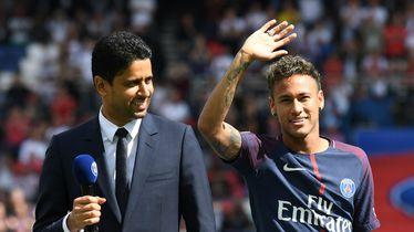 Nasser Al-Khelaifi, Neymar