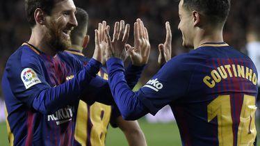 Lionel Messi i Philippe Coutinho