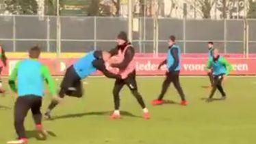 Tučnjava igrača na treningu Feyenoorda