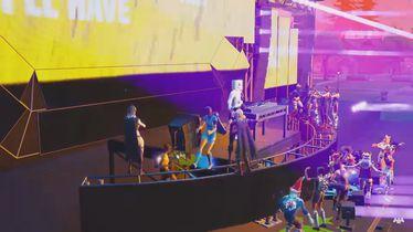 Marshmellov koncert u Fortniteu (Foto: Screenshot/YouTube)