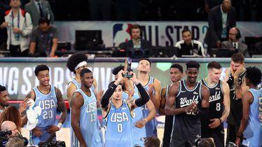 Kyle Kuzma MVP utakmice Zvijezda u usponu (Foto: AFP)