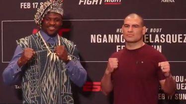 Francis Ngannou i Cain Velasquez
