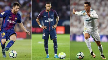 Lionel Messi, Neymar i Cristiano Ronaldo