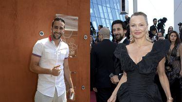 Pamela Anderson i Adil Rami (Foto: Profimedia)
