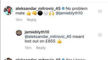 Mitrović odgovorio igraču kladionice