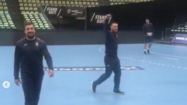 Zlatko Horvat i Luka Cindrić (Screenshot: Instagram)