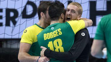 Brazil slavi pobjedu (Foto: AFP)