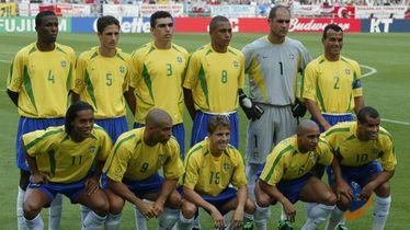 Reprezentacija Brazila koja je bila svjetski prvak 2002. (Foto: AFP)
