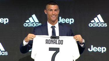 Cristiano Ronaldo predstavljen u Juventusu