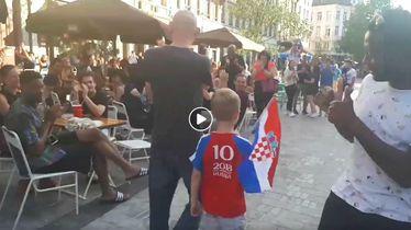 Belgijanci pljeskali dječaku iz Hrvatske (Screenshot)