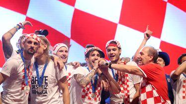Hrvatska na pozornici na Trgu bana Josipa Jelačića (Foto :Petar Glebov/PIXSELL)