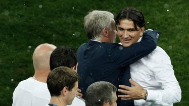 Zlatko Dalić i Didier Deschamps
