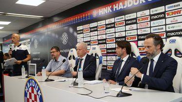 Benjamin Perasović, Marin Brbić, Saša Bjelanović i Lukša Jakobušić