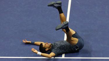 Novak Đoković slavi pobjedu na US Openu
