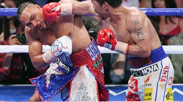 Manny Pacquiao i Kieth Thurman (