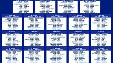 Raspored nove sezone Serie A