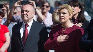 Ivan Vrkić i Kolinda Grabar Kitarović (Foto: Davor Javorovic/PIXSELL)