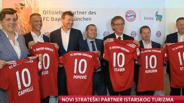 Potpisivanje suradnje Bayerna i Istre