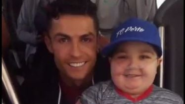 Cristiano Ronaldo i bolesni dječak