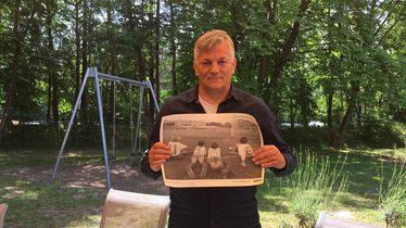 Ivan Gudelj sa zahvalnicom iz projekta \'Za sva vrimena\'