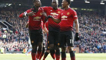Pogba, Lukaku i Martial (Foto: Darren Staples/Press Association/PIXSELL)