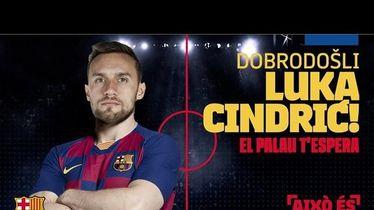 Luka Cindrić potpisao za Barcelonu