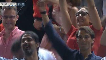 Rafa Nadal slavi treći pogodak Mallorce