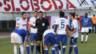 Ivan Bebek na derbiju Hajduk - Dinamo