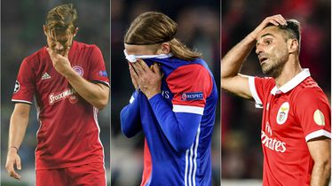 Benfica, Olympicaos i Basel