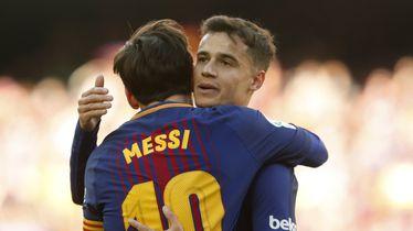 Lionel Messi i Phillipe Coutinho