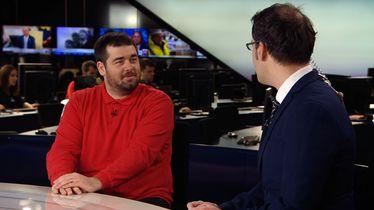 Dino Sokolović u Dnevniku Nove TV (Foto: GOL.hr)