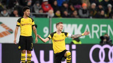 Razočarani igrači Borussije Dortmund