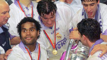 Šuker i Raul s trofejem Lige prvaka