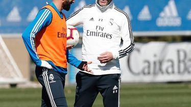 Zidane i Benzema