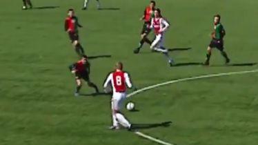 Matthijs de Ligt kao 14-godišnjak s osmicom na leđima