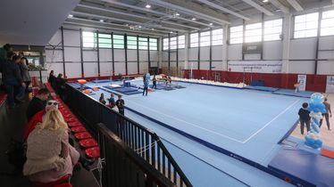 Nova dvorana za gimnastičare