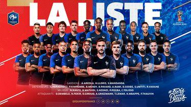 Francuska za SP 2018.