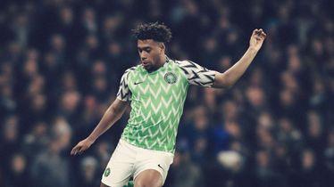 Alex Iwobi u dresu Nigerije