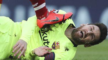 Lionel Messi na travnjaku