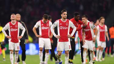 Razočarani igrači Ajaxa