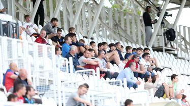 Gledatelji na stadionu u Kranjčevićevoj