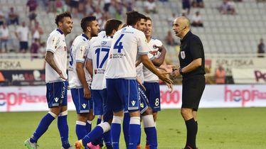 Bruno Marić i igrači Hajduka
