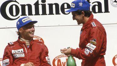 Niki Lauda i Alain Prost