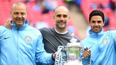 Guardiola sa svojim pomoćnicima