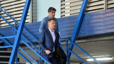 Zdravko i Zoran Mamić u Maksimiru