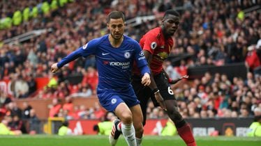 Eden Hazard i Paul Pogba