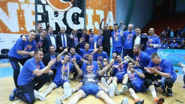 Cibona slavi naslov prvaka