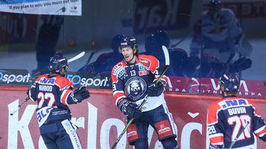 Slavlje hokejaša Medveščaka