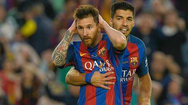 Lionel Messi i Luis Suarez