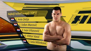 Top 5 hrvatskih teškaša (MMA Lucky Punch)